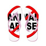 Anti / No Animal Abuse Flip Flops