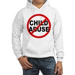 Anti / No Child Abuse Hooded Sweatshirt
