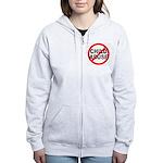 Anti / No Child Abuse Women's Zip Hoodie