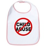 Anti / No Child Abuse Bib
