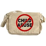 Anti / No Child Abuse Messenger Bag