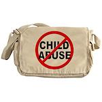 Anti / No Child Abuse Messenger Bag