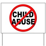 Anti / No Child Abuse Yard Sign