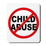 Anti / No Child Abuse Mousepad
