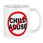 Anti / No Child Abuse Mug