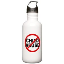 Anti / No Child Abuse Water Bottle