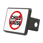Anti / No Child Abuse Rectangular Hitch Cover