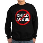 Anti / No Child Abuse Sweatshirt (dark)