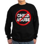 Anti / No Child Abuse Sweatshirt (dark)