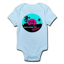 Welcome to Miami Infant Bodysuit
