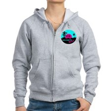 Welcome to Miami Zip Hoodie