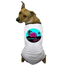 Welcome to Miami Dog T-Shirt