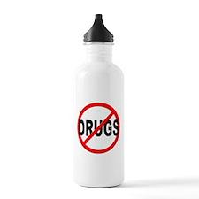 Anti / No Drugs Water Bottle
