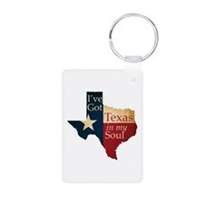 Texas in my Soul Keychains
