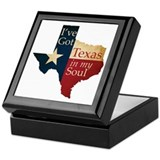 Texas in my Soul Keepsake Box