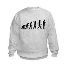 Evolution of Man Texting Sweatshirt