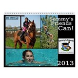 Sammys Friends logo Wall Calendar
