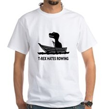 T-Rex Hates Rowing Shirt