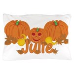 Halloween Pumpkin Julie Pillow Case