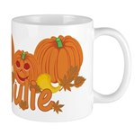 Halloween Pumpkin Julie Mug