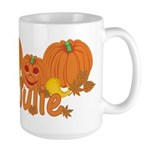 Halloween Pumpkin Julie Large Mug