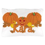 Halloween Pumpkin Kara Pillow Case