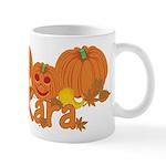 Halloween Pumpkin Kara Mug