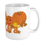 Halloween Pumpkin Kara Large Mug