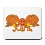 Halloween Pumpkin Kara Mousepad