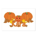 Halloween Pumpkin Kara Postcards (Package of 8)