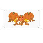 Halloween Pumpkin Kara Banner