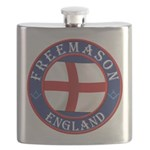 English Freemasons Flask