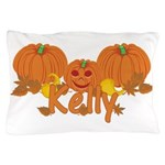 Halloween Pumpkin Kelly Pillow Case