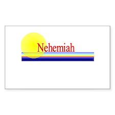 Nehemiah Rectangle Decal