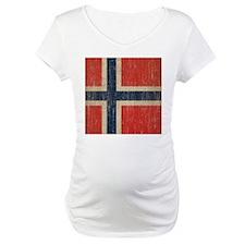 Vintage Norway Flag Shirt