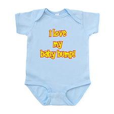 I love my baby bump Infant Bodysuit