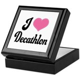 I Love Decathlon Keepsake Box