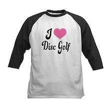 I Love Disc Golf Tee