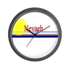 Nevaeh Wall Clock