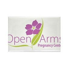 Open Arms Pregnancy Center Rectangle Magnet (100 p