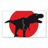 tyrannosaurus rex Stickers