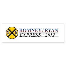 Romney Ryan Express 2012 Bumper Sticker