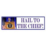 Hail! Bumper Sticker