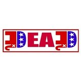 GOP Dead! Bumper Sticker