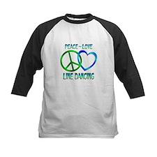 Peace Love Line Dancing Tee