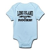 Long Island Rocks Onesie