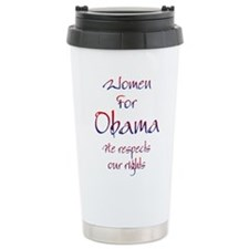 Obama 2012 Ceramic Travel Mug