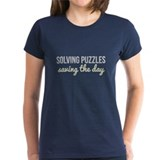 Solving Puzzles, Saving the Day Tee