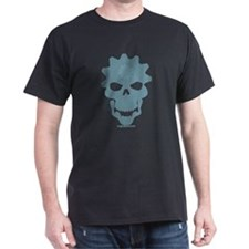2-skullCog_blue T-Shirt