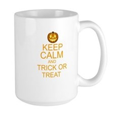 keep calm and trick or treat Halloween Mug